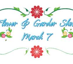 Vector Flower and Garden Show Logo
