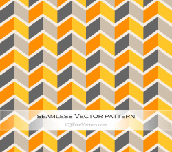 Vector Colorful Seamless Chevron Pattern Abstract Background
