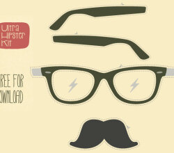 Free Vector Hipster Kit