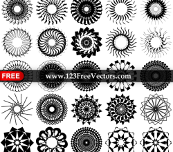 35 Vector Decorative Design Elements