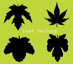 Autumn Leaf Silhouette Clip Art