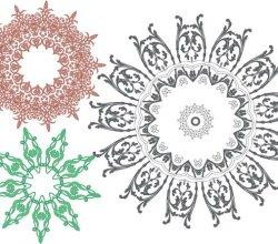 Vector Art Ornaments
