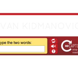 ReCAPTCHA Vector