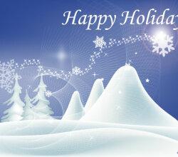 Vector Happy Holidays Wallpaper