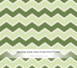 Green Zig Zag Pattern Vector