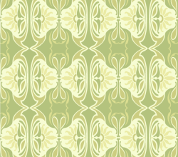 Free Vector Deco Tile Seamless Pattern