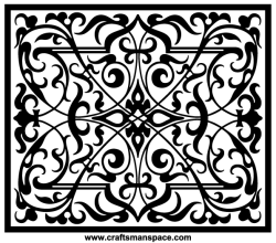 Rectangular Shape Ornament Vectors