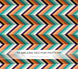 Seamless Chevron Pattern Vector Background