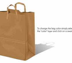 Free Paper Bag Vector