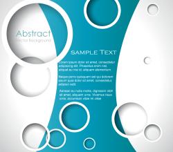 Circle Background Illustrator Template