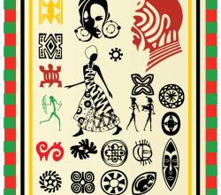 Free African Elements Vector Art