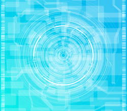 Abstract Technology Background Design Vector Free