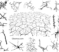Free Vector Grunge Cracks Image