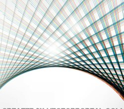 Colorful Lines Graphic Background