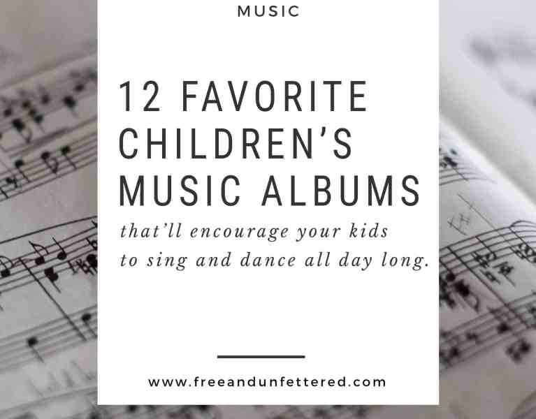 favorite children's music albums