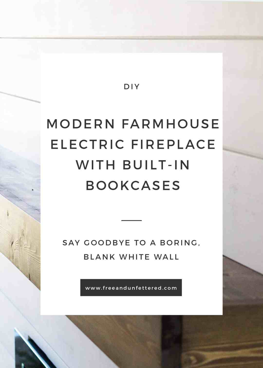 Cool Diy Electric Fireplace With Built In Bookshelves Home Remodeling Inspirations Genioncuboardxyz