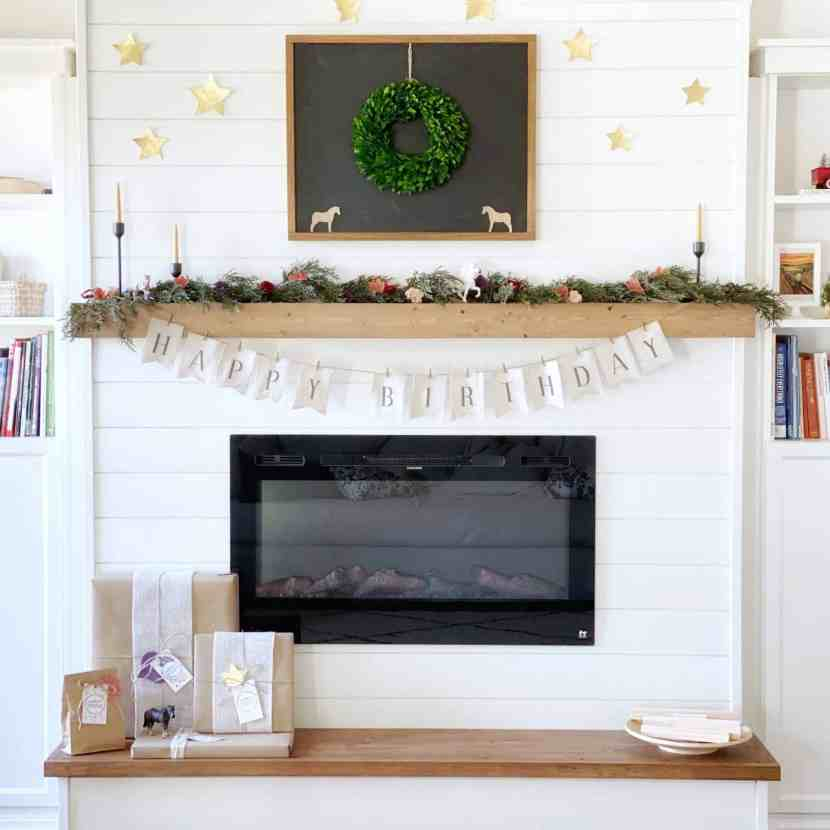 Diy Modern Farmhouse Floating Mantel, How To Mount A Floating Fireplace Mantel