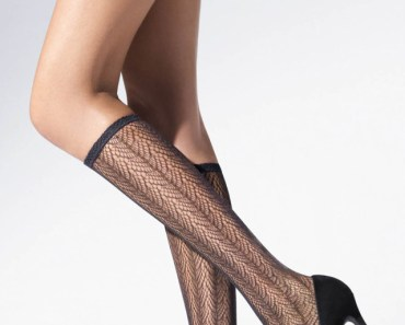 Beautiful Legs with Lace Stockings