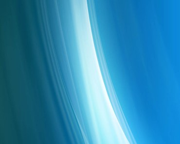 Blue Abstract Curved Waves