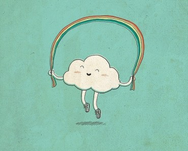Cute Cartoon Cloud