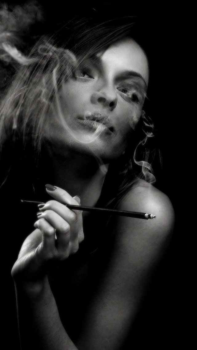 Decadent Lifestyle Smoking Girl 02 Iphone 6 6 Plus And