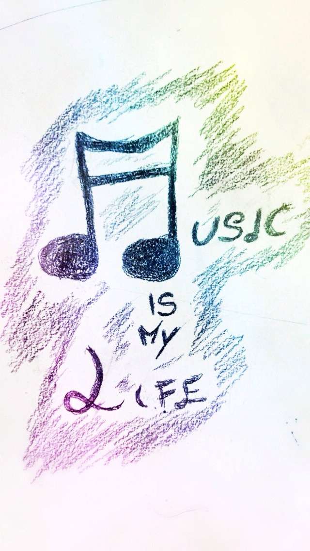 Hand Painted Music Is My Life