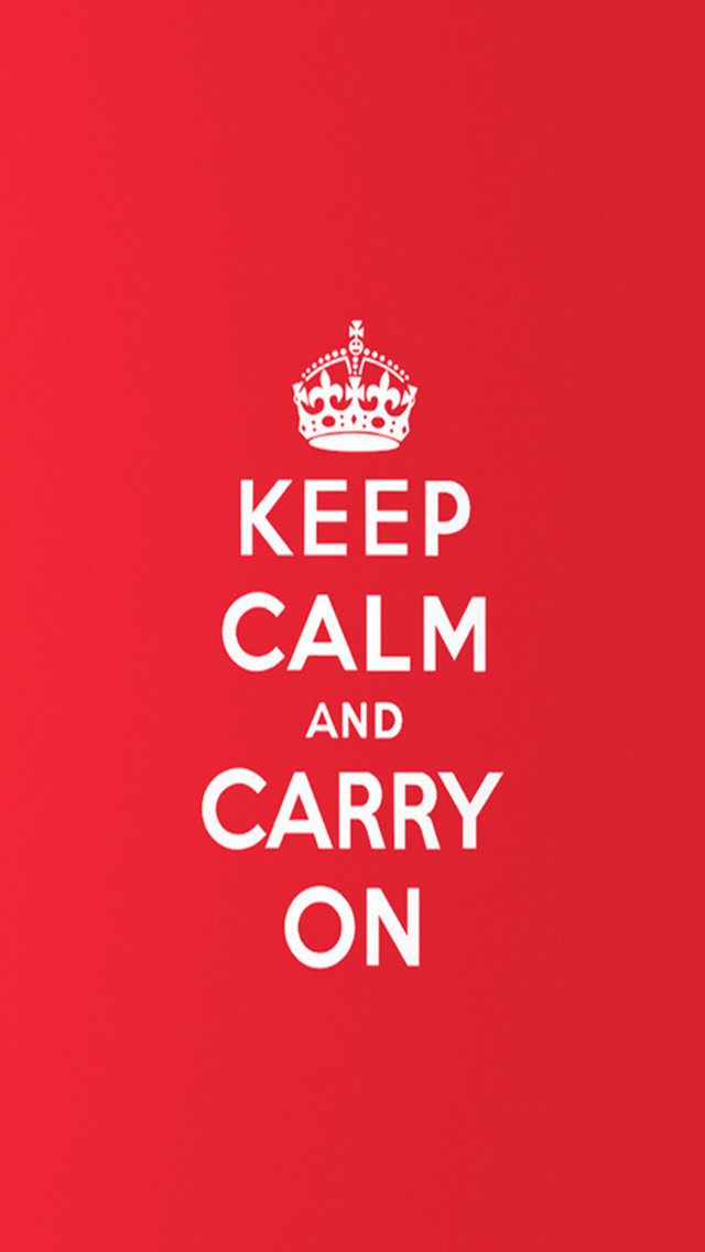 Letter S 3d Wallpaper Keep Calm And Carry On Iphone 6 6 Plus And Iphone 5 4