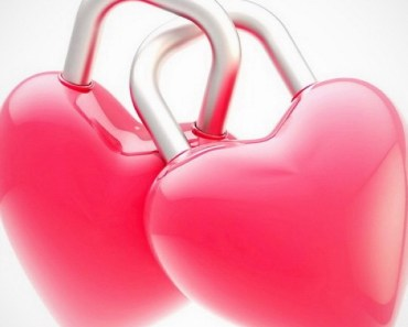 Pink Locked Hearts