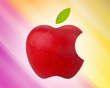 Realistic Apple Logo
