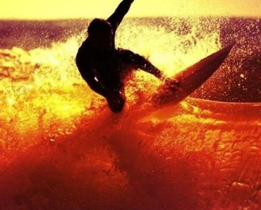 Surfing At The Twilight