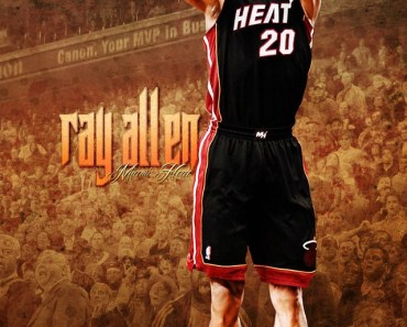 Burning Miami Ray Allen
