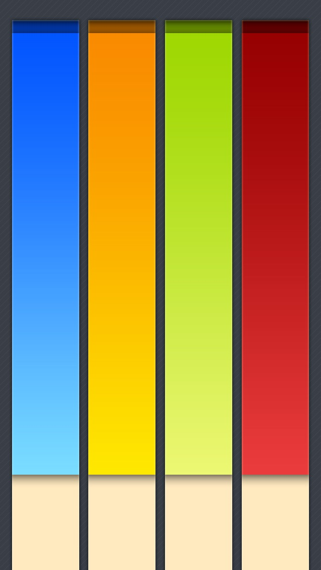 Colorful Piano Keys IPhone 6 Plus And 5 4 Wallpapers