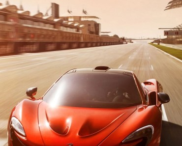 Red Concept Racing Car