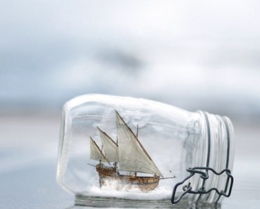 Sailboat In The Bottle