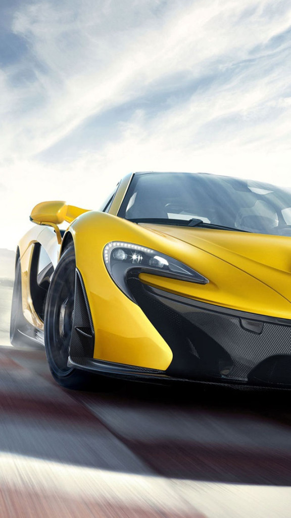 2014 Yellow McLaren P1 IPhone 6 6 Plus And IPhone 54