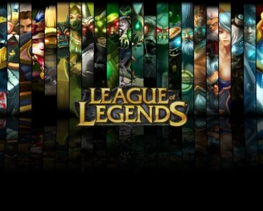 League of Legends Heroes Wall