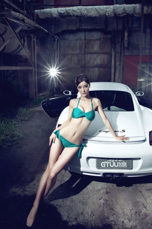 Beautiful Girl Wallpaper Hd 12 Porsche Cayman S Babe Iphone 6 6 Plus And Iphone 5 4