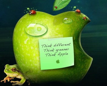 Think Greener Think Apple