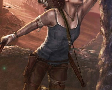 Tomb Raider Lara Croft Artwork