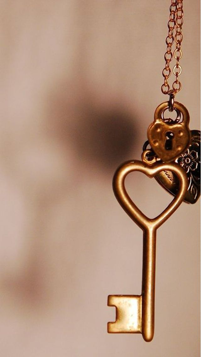 Copper Love Heart Key Iphone 6 6 Plus And Iphone 5 4