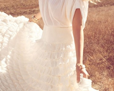 Lily Donaldson White Dress