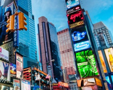 Times Square New York Panoramic View