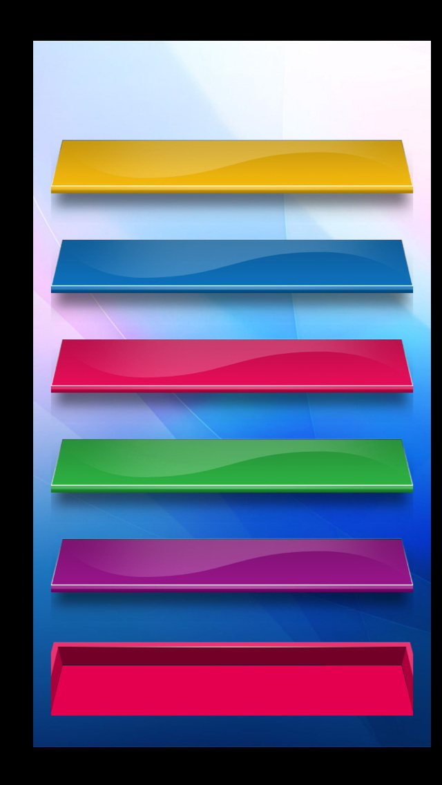 Girly Wallpapers For Iphone 6 Colored Glass Shelves Iphone 6 6 Plus And Iphone 5 4