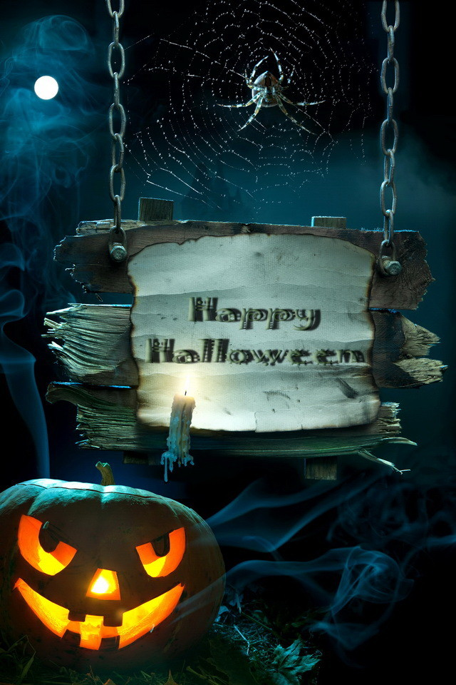 Cute Cartoon Girl Hd Wallpapers Happy Halloween Wallpaper Free Iphone Wallpapers