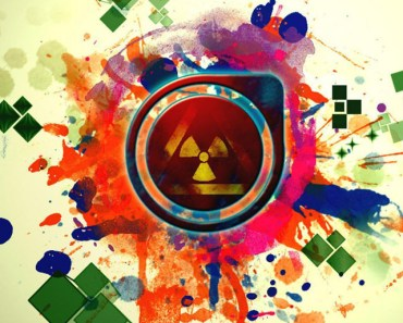 Abstract Nuclear Explosion Art