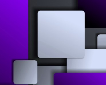 Abstract Rounded Squares