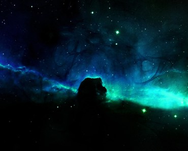 Blue Starry Space