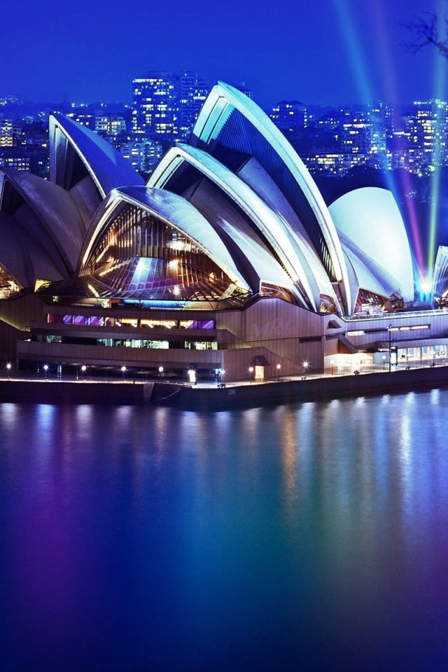 Anime Girl Hd Wallpapers 1080p Sydney Opera House Night Wallpaper Free Iphone Wallpapers