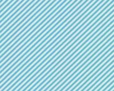 Blue Fabric Stripes