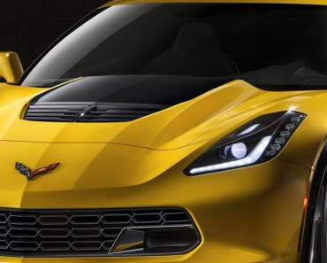 Chevrolet Corvette Z06 Yellow
